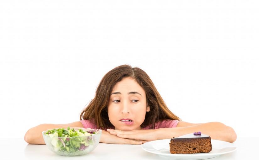 cake vs salad